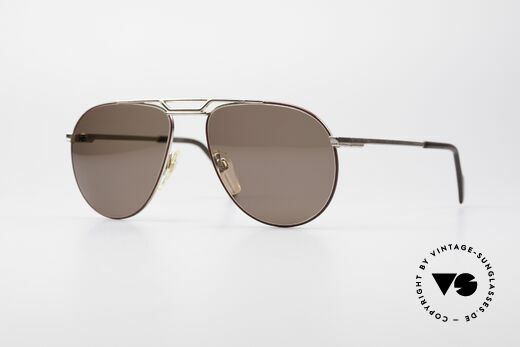 Metzler 0876 80's Men's Aviator Sunglasses Details