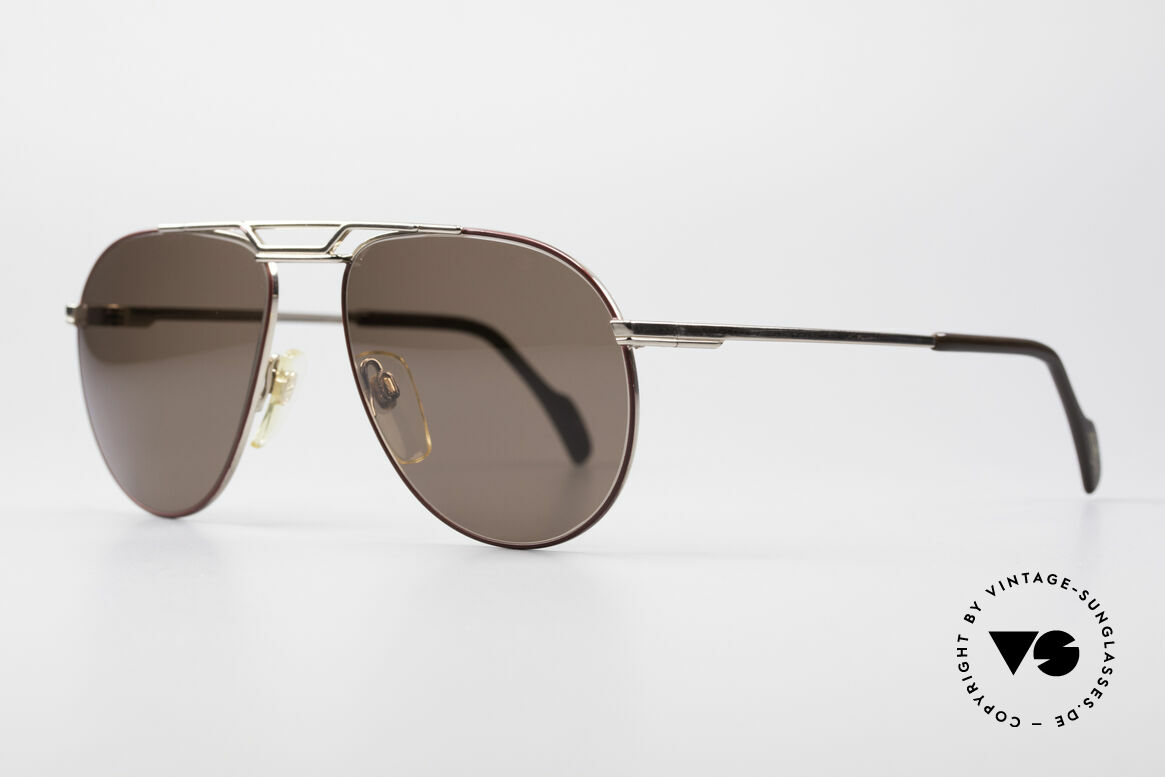 Metzler 0876 80's Men's Aviator Sunglasses