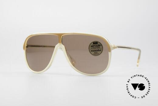 Metzler 0100 Rare Vintage Sunglasses Details