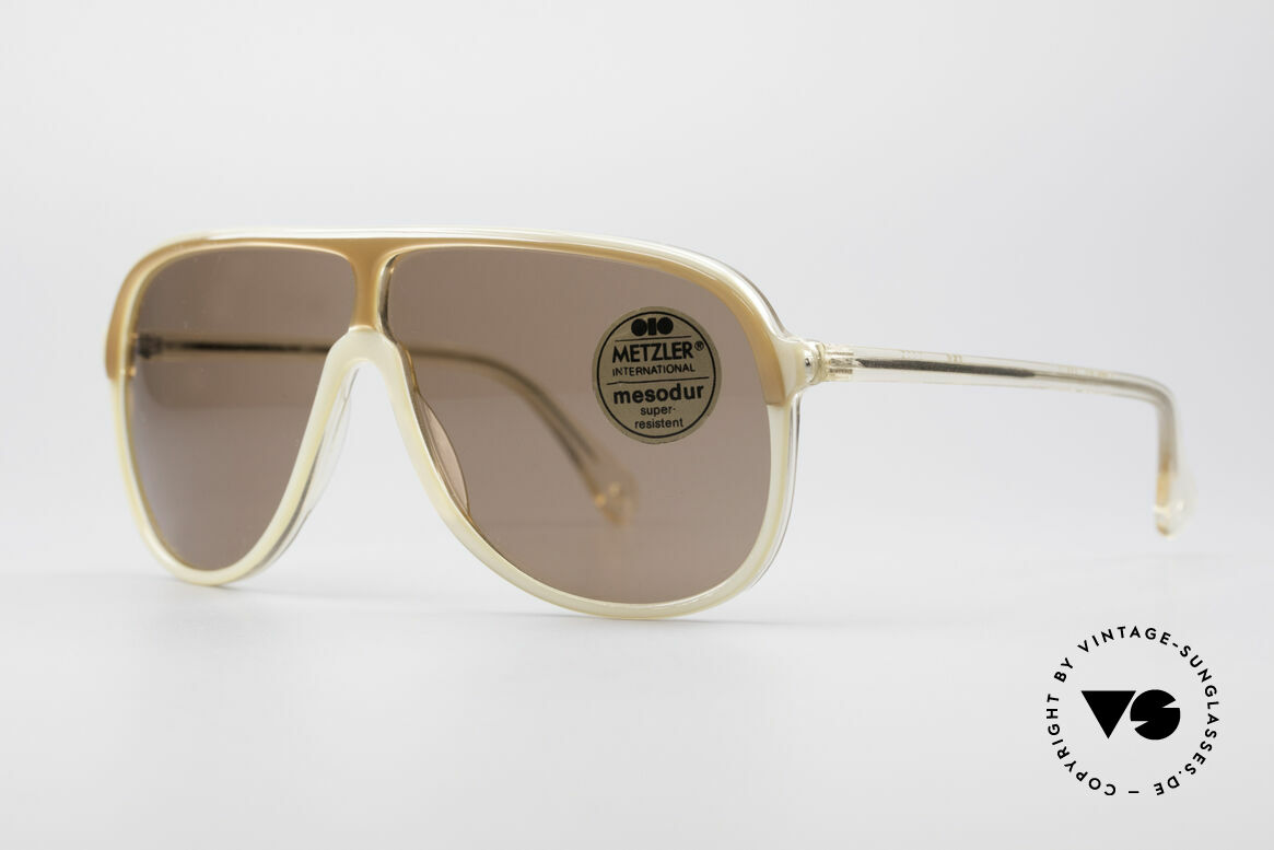 "Metzler 0100 Rare Vintage Sunglasses, more ""OLD SCHOOL"" or ""TRUE VINTAGE"" isn't possible, Made for Men"