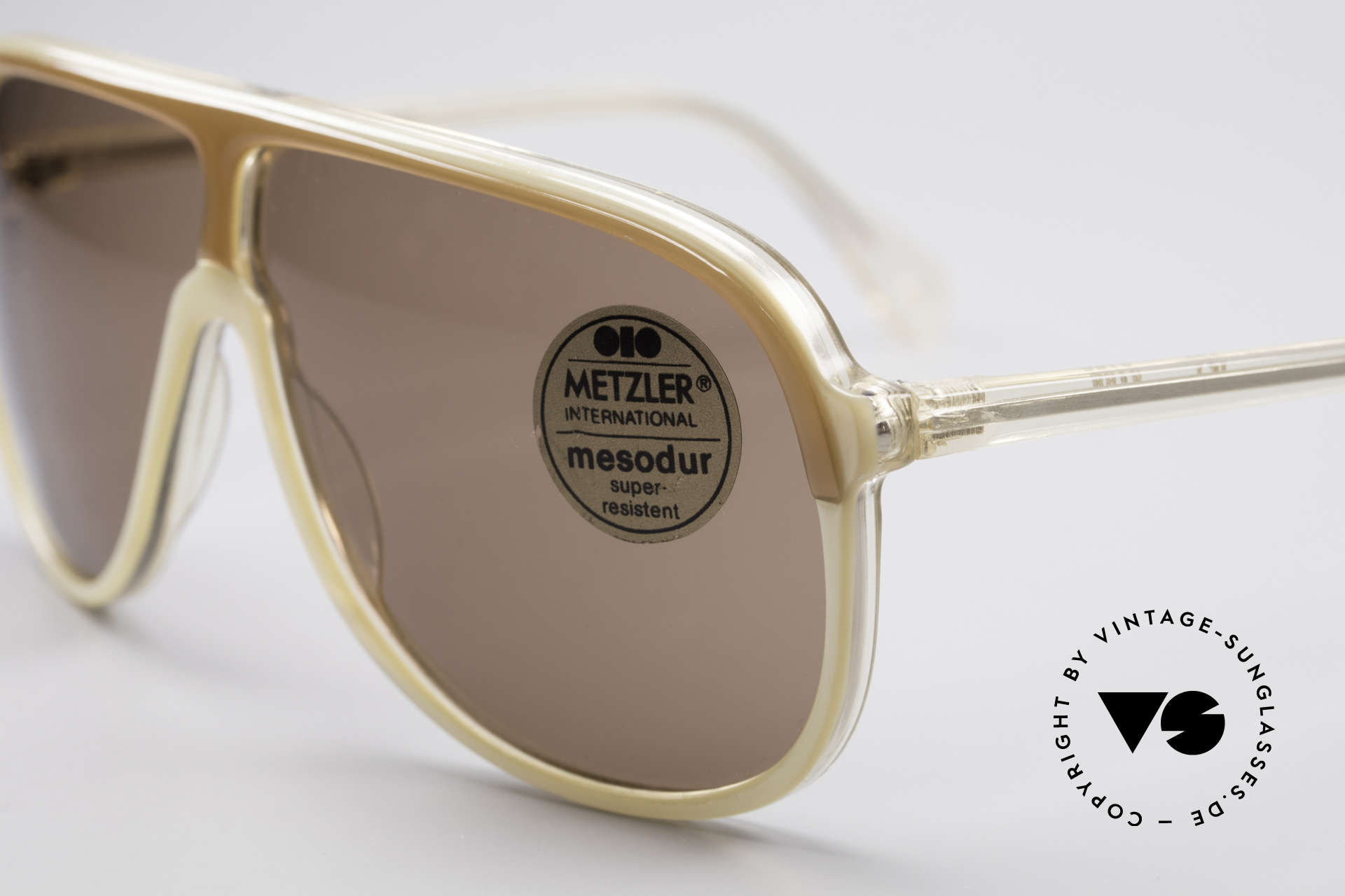 Metzler 0100 Rare Vintage Sunglasses, new old stock (like all our vintage Metzler sunglasses), Made for Men