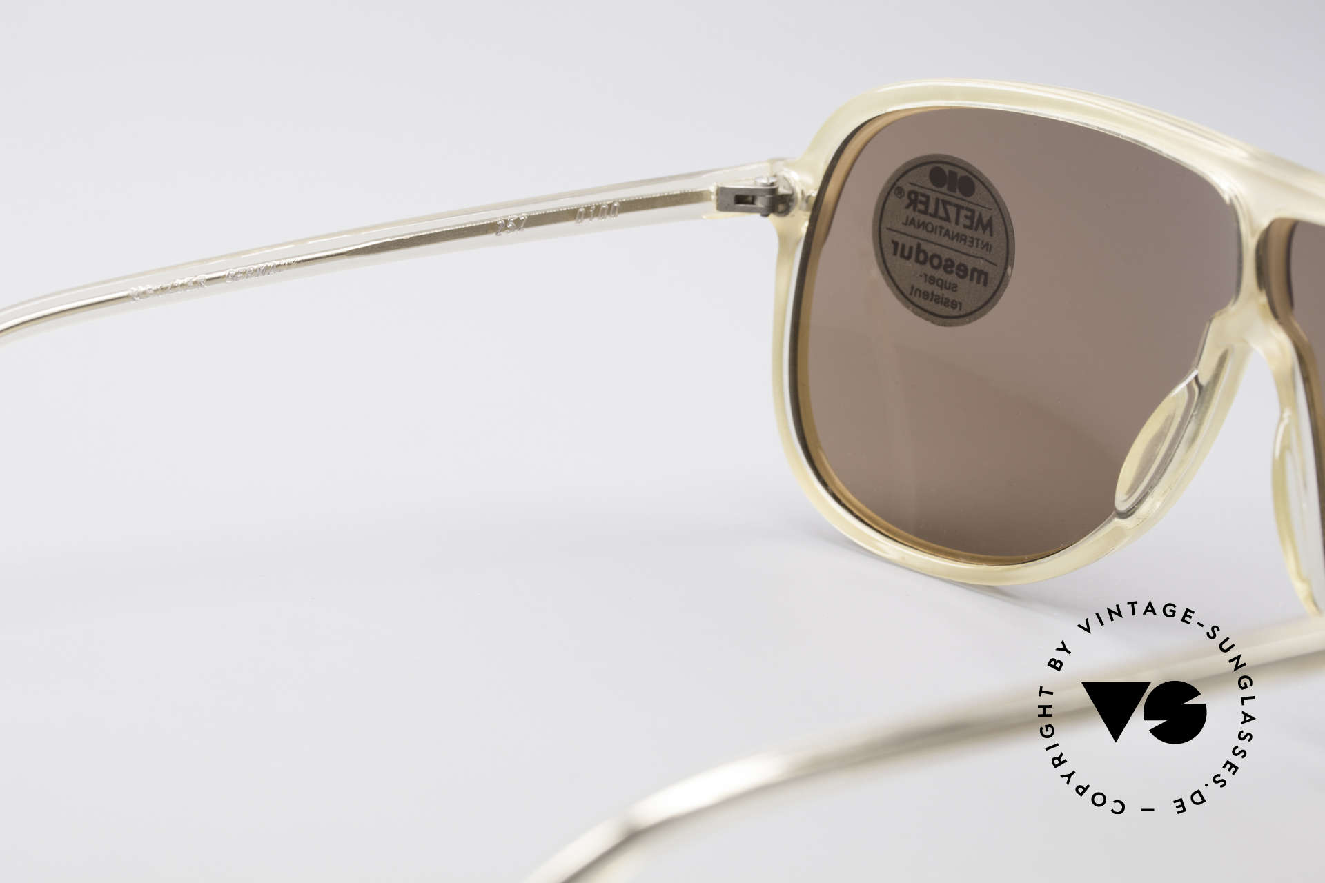 Metzler 0100 Rare Vintage Sunglasses, NO retro shades, but an authentic 35 years old original, Made for Men