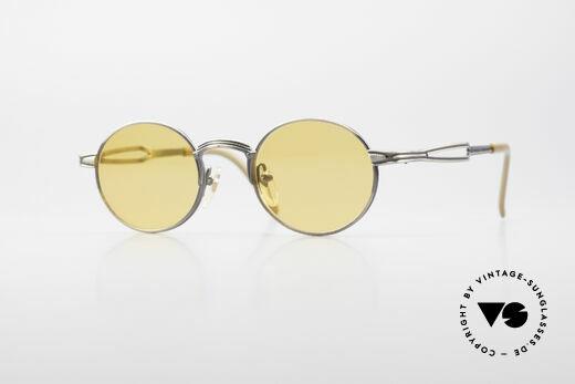 Jean Paul Gaultier 55-7107 Round Vintage Sunglasses Details