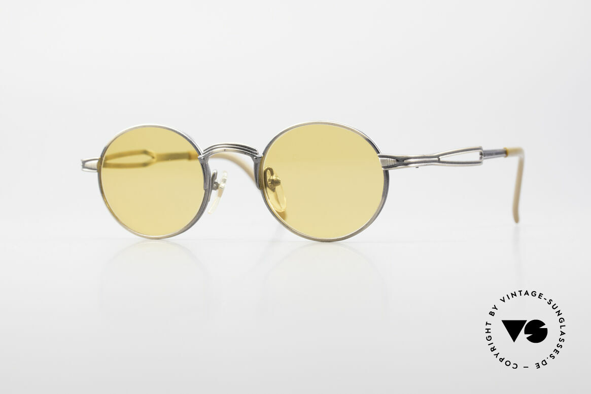 Jean Paul Gaultier 55-7107 Round Vintage Sunglasses, round vintage sunglasses by Jean Paul GAULTIER, Made for Men and Women