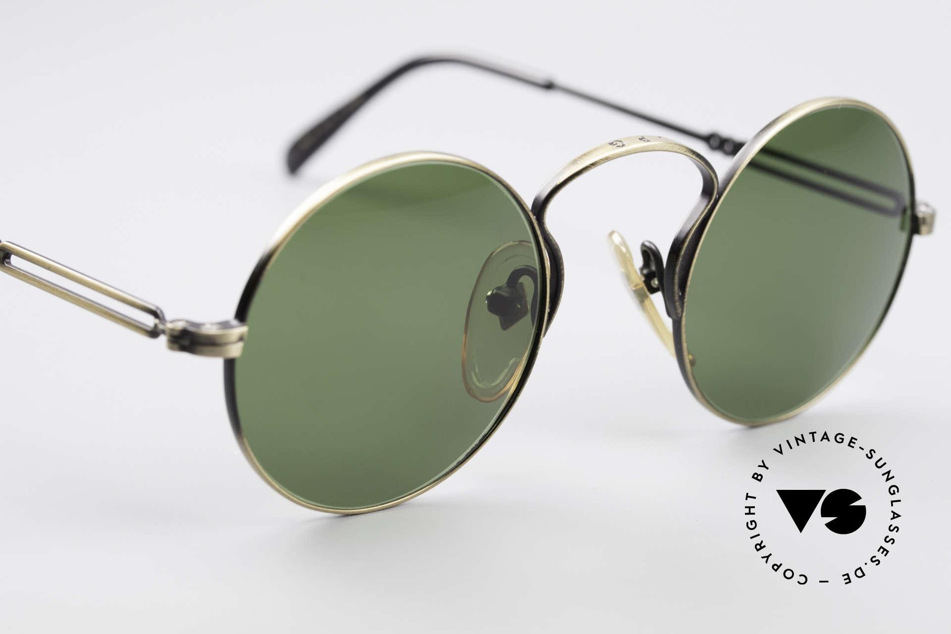 Jean Paul Gaultier 55-0172 90's Designer Sunglasses, NO RETRO shades, but an old J.P. Gaultier original, Made for Men and Women