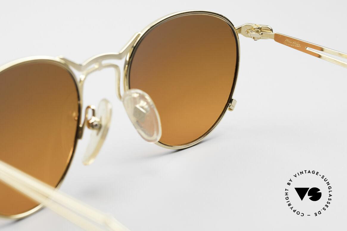 Jean Paul Gaultier 55-2177 Gold Plated Designer Frame