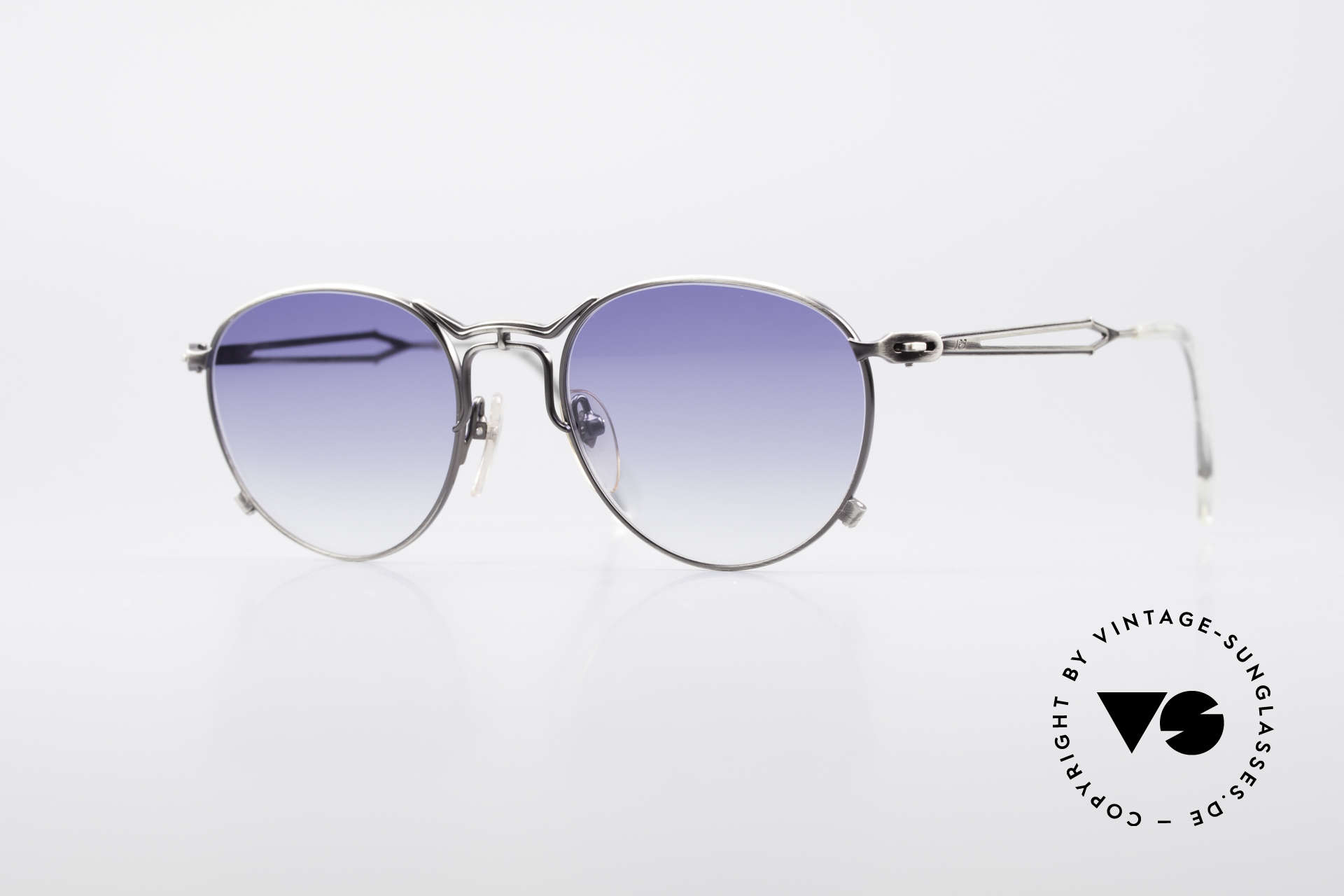 Jean Paul Gaultier 55-2177 Rare Designer Sunglasses, extraordinary vintage JP Gaultier designer sunglasses, Made for Men and Women