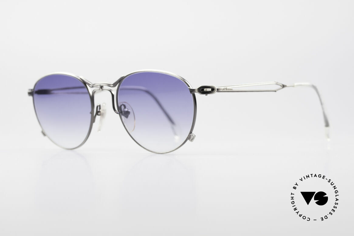 "Jean Paul Gaultier 55-2177 Rare Designer Sunglasses, also called: ""charcoal gray / silver"" or ""antique silver"", Made for Men and Women"
