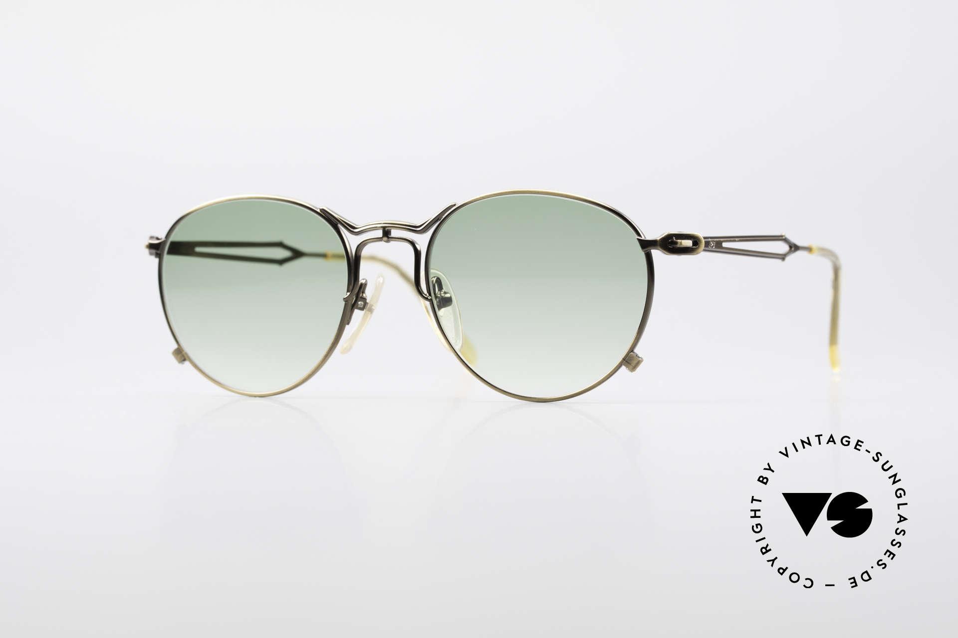 Jean Paul Gaultier 55-2177 True Vintage No Retro Frame, extraordinary vintage JP Gaultier designer sunglasses, Made for Men and Women