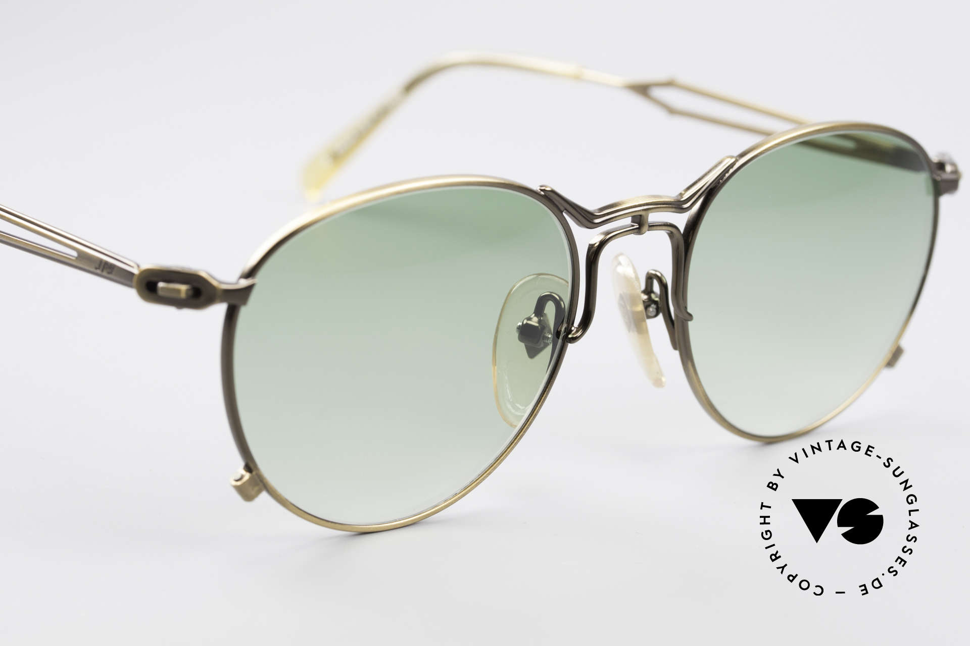 Jean Paul Gaultier 55-2177 True Vintage No Retro Frame, a real designer frame in top-notch quality from 1996, Made for Men and Women