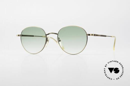 Jean Paul Gaultier 55-1174 Round Designer Sunglasses Details