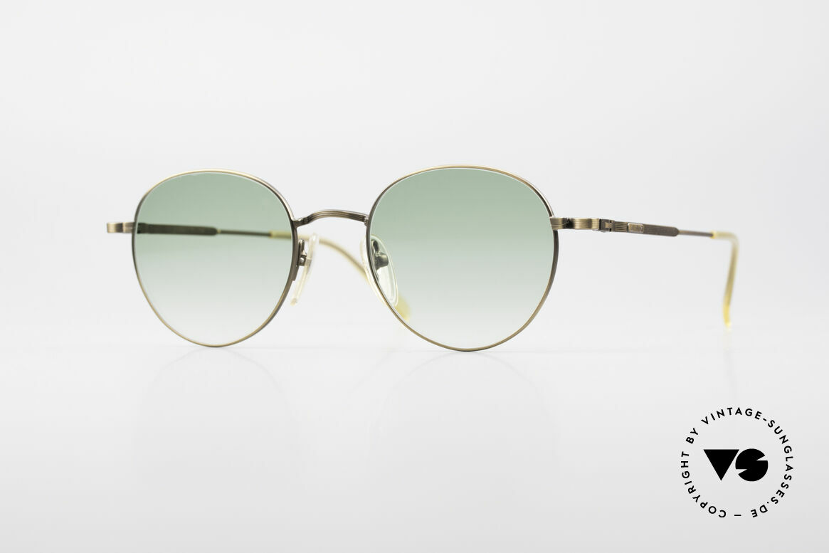 Jean Paul Gaultier 55-1174 Round Designer Sunglasses, round vintage designer sunglasses by J.P. GAULTIER, Made for Men and Women