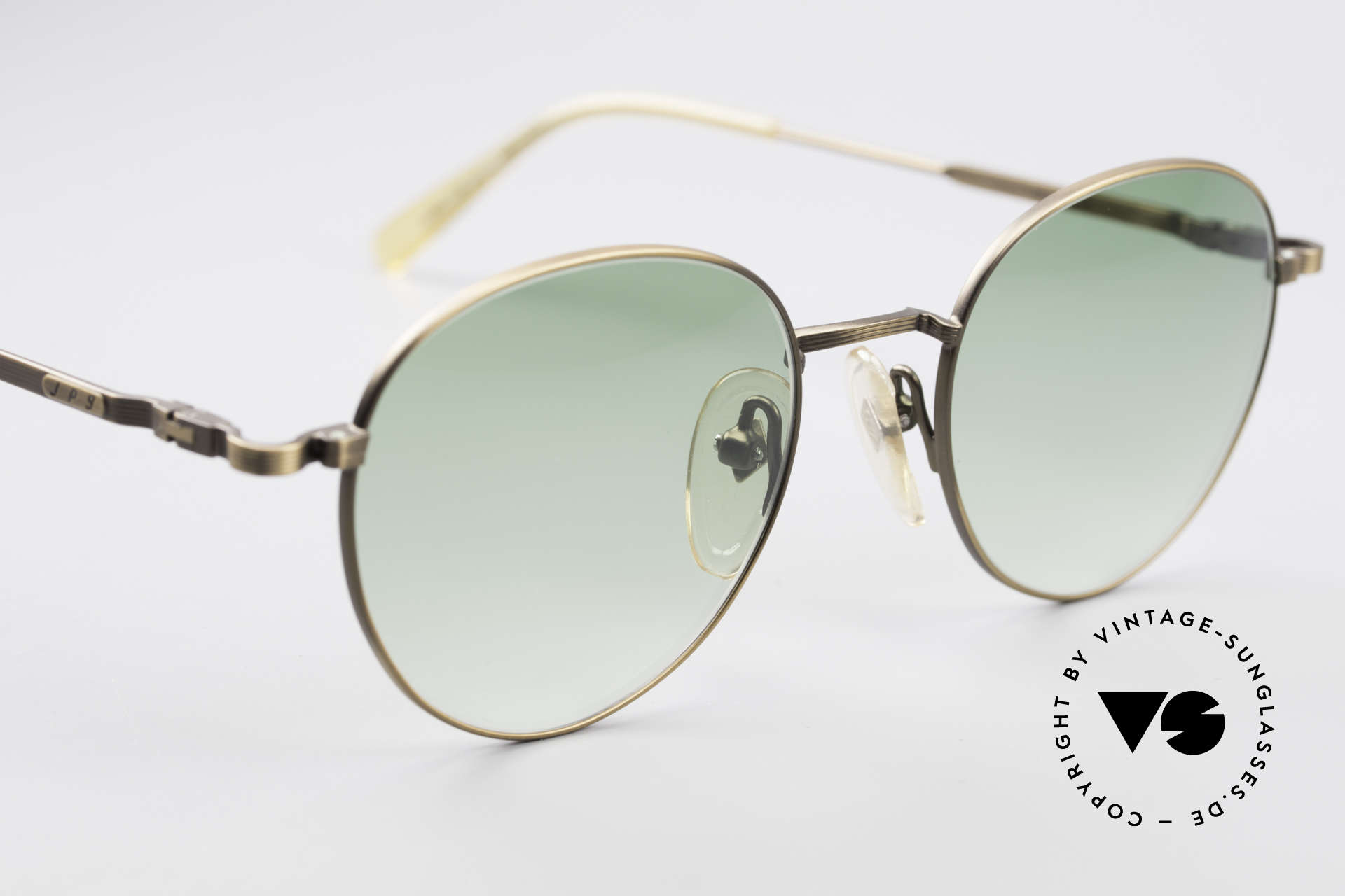 Jean Paul Gaultier 55-1174 Round Designer Sunglasses, a real designer frame in top-notch quality from 1996, Made for Men and Women
