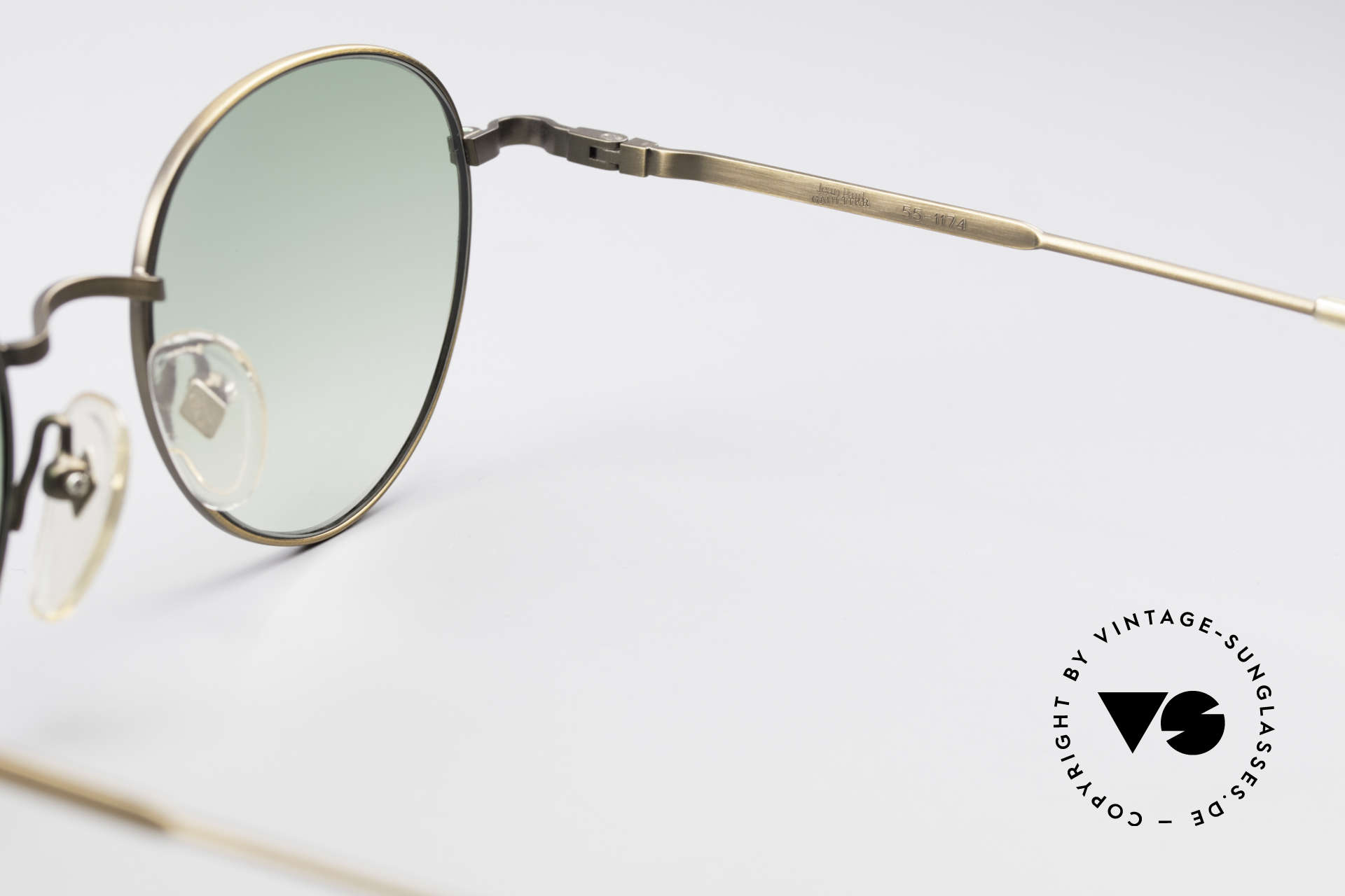 Jean Paul Gaultier 55-1174 Round Designer Sunglasses, unworn (like all our rare vintage 90's designer glasses), Made for Men and Women