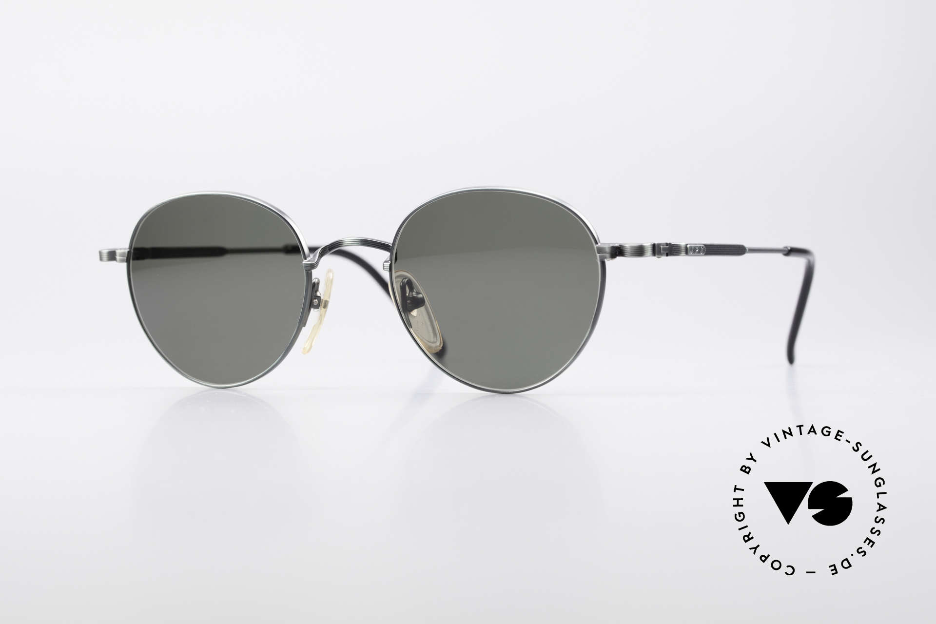 Jean Paul Gaultier 55-1174 Round Vintage Sunglasses, round vintage designer sunglasses by J.P. GAULTIER, Made for Men and Women