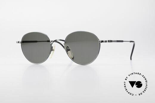 Jean Paul Gaultier 55-1174 Round Vintage Sunglasses Details
