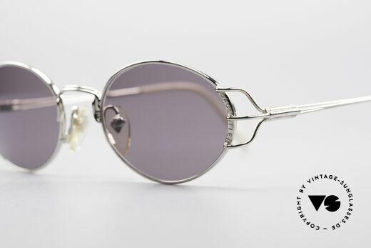 Jean Paul Gaultier 55-6104 Oval Vintage Sunglasses
