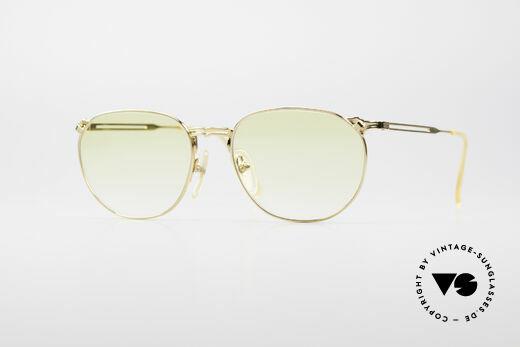 Jean Paul Gaultier 55-2173 Gold Plated Designer Frame Details