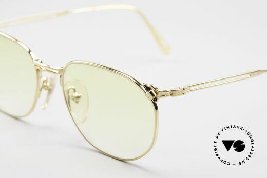 Jean Paul Gaultier 55-2173 Gold Plated Designer Frame