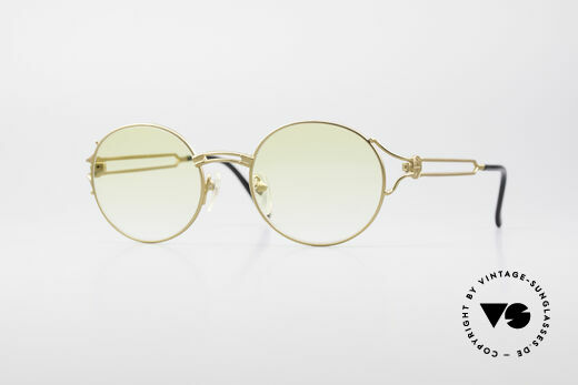 Jean Paul Gaultier 57-6102 Tupac All Eyez On Me Glasses Details