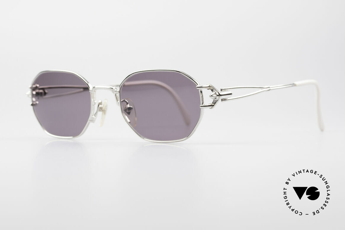 Jean Paul Gaultier 55-6106 90's Vintage Sunglasses, 'mechanical design' = distinctive GAULTIER collection, Made for Men and Women