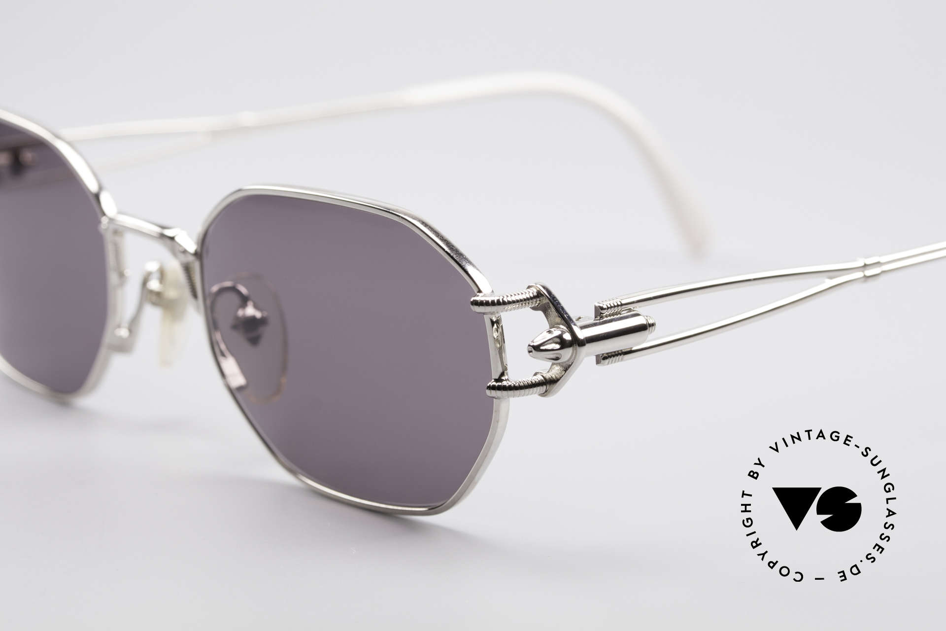 Jean Paul Gaultier 55-6106 90's Vintage Sunglasses, high-end frame (made in Japan) & 100% UV protection, Made for Men and Women