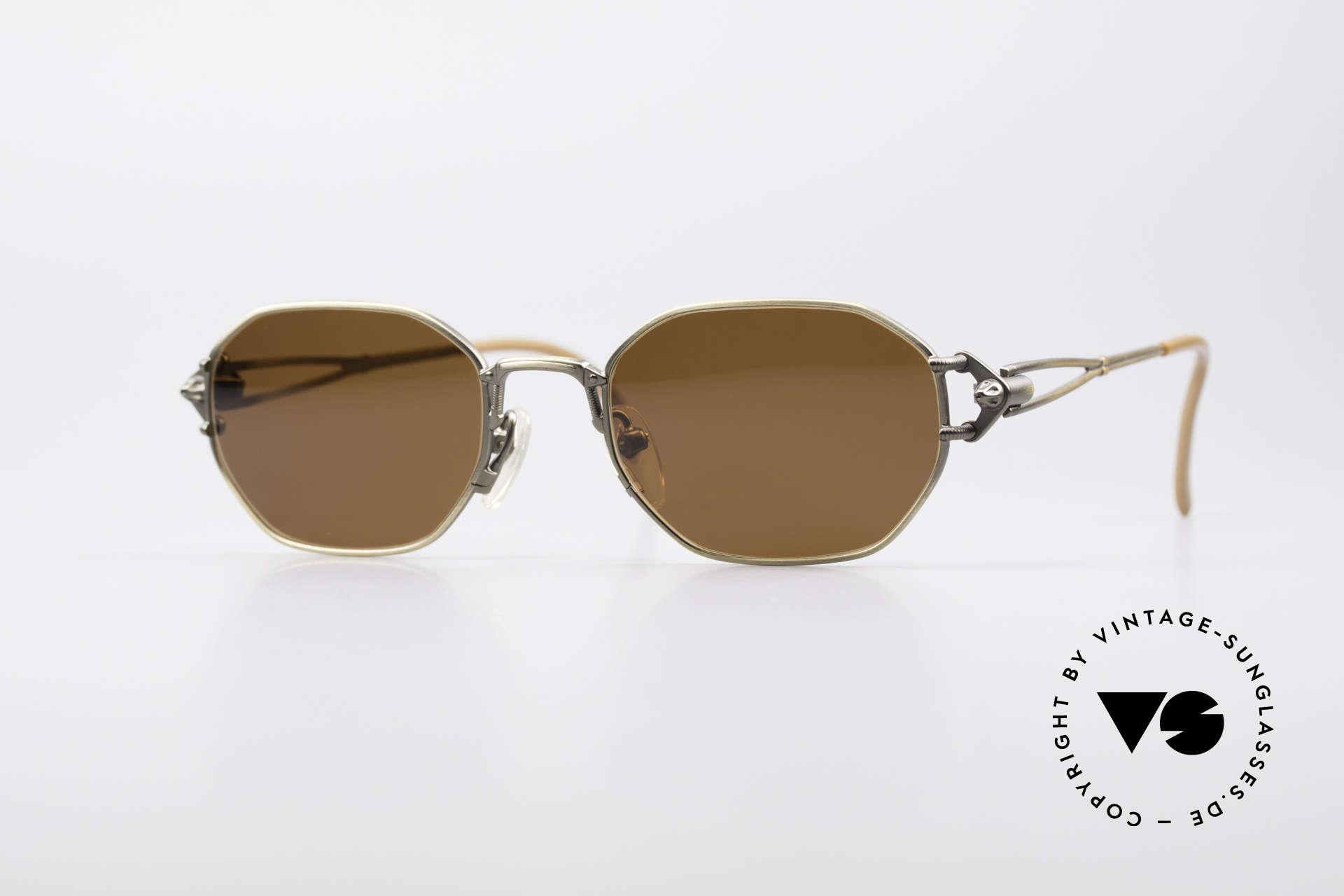 Jean Paul Gaultier 55-6106 90's Designer Sunglasses, precious Jean Paul Gaultier sunglasses from app. 1994, Made for Men and Women