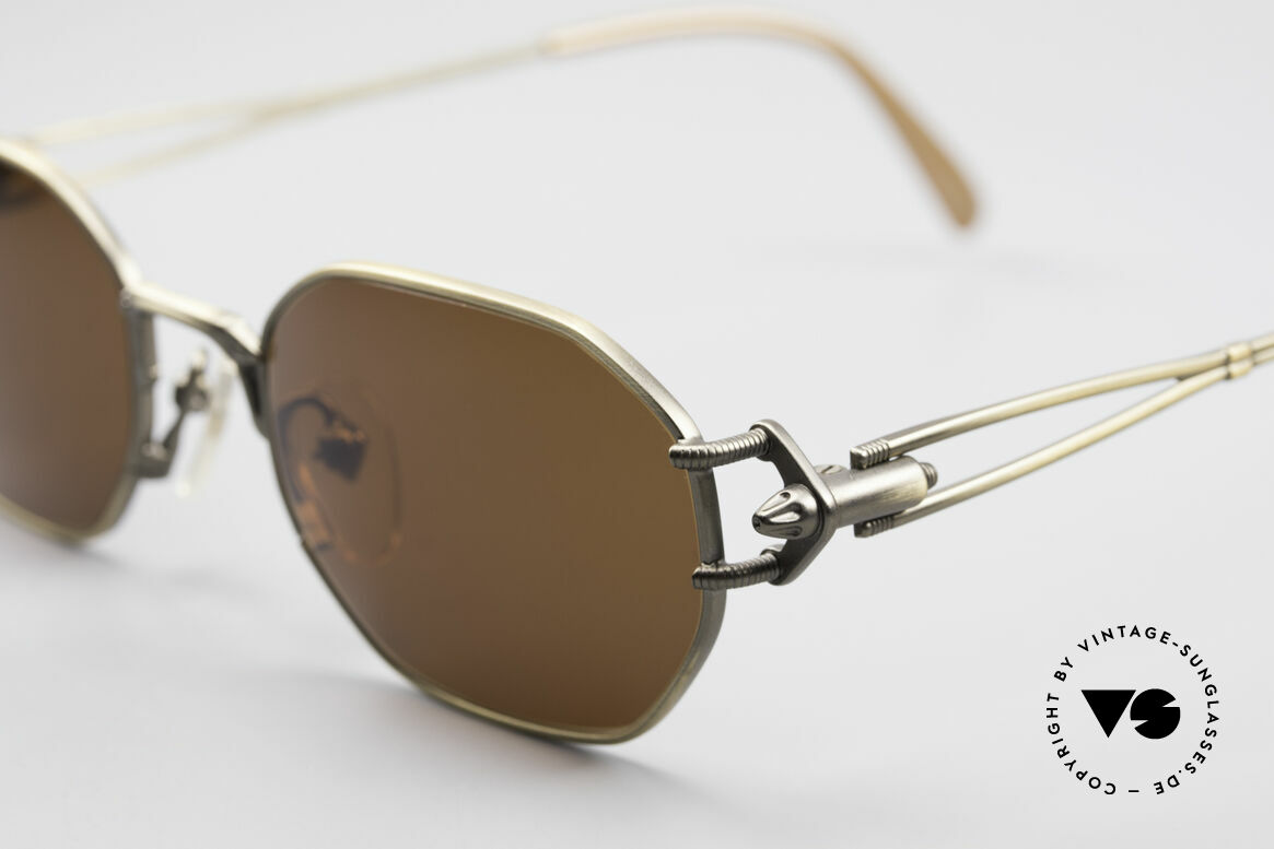 Jean Paul Gaultier 55-6106 90's Designer Sunglasses, high-end frame (made in Japan) & 100% UV protection, Made for Men and Women