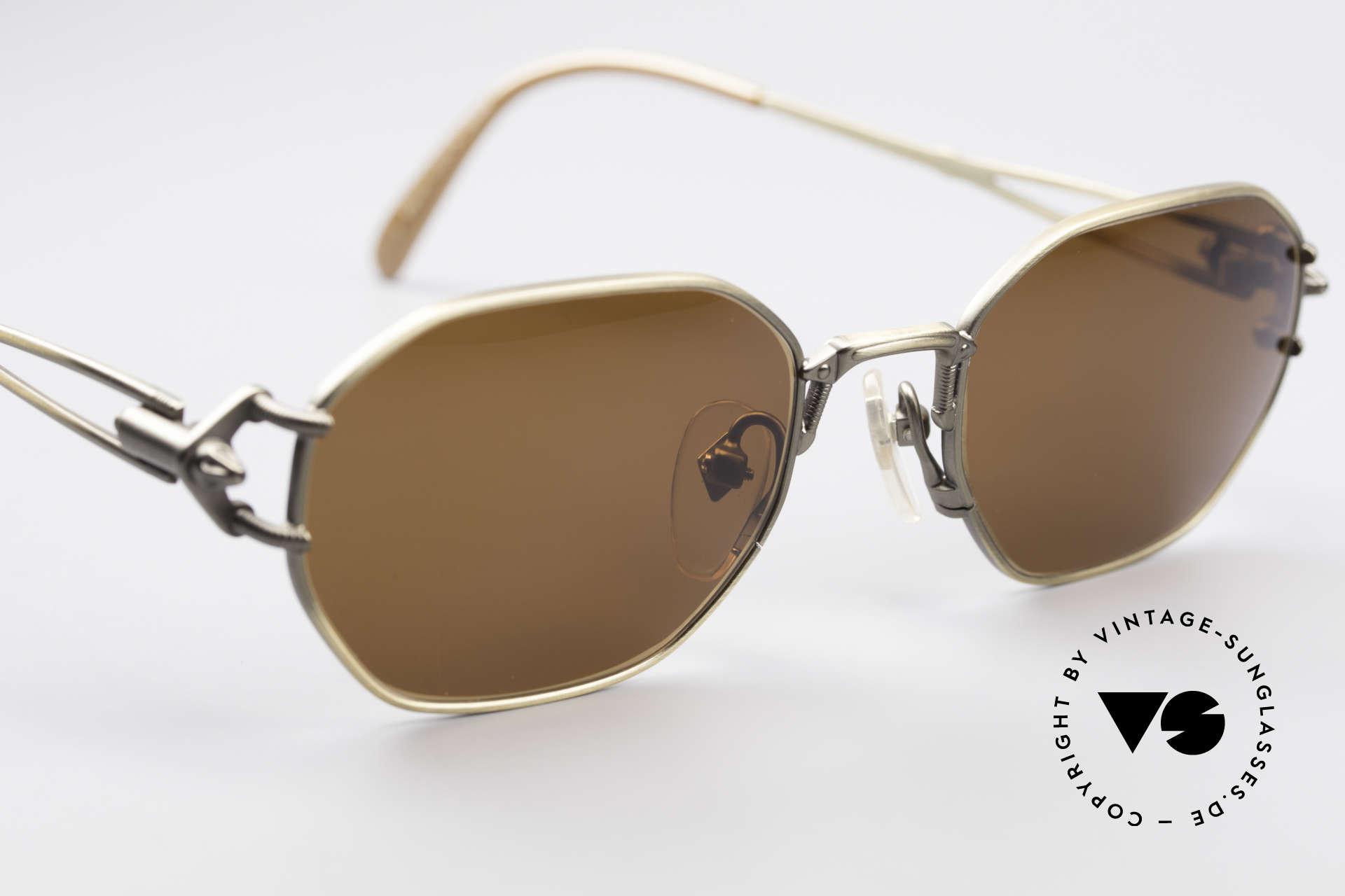 Jean Paul Gaultier 55-6106 90's Designer Sunglasses, unworn (like all our rare old 1990's designer sunglasses), Made for Men and Women