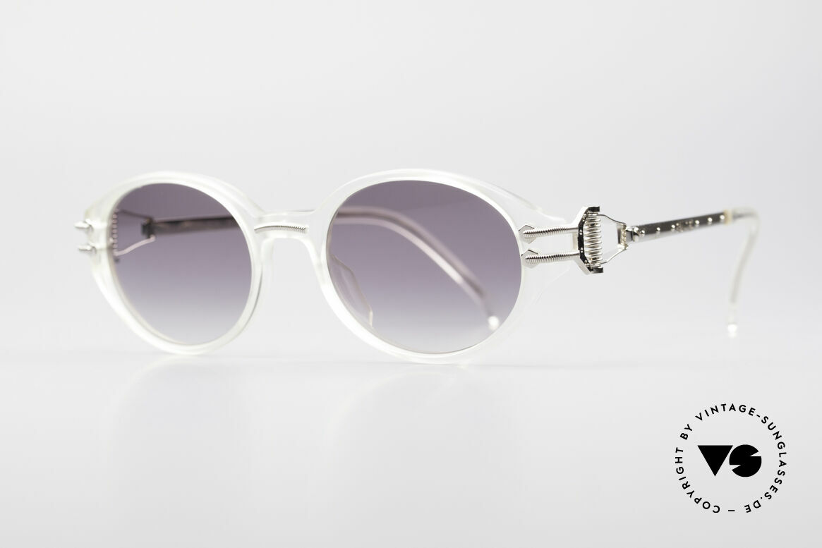 Jean Paul Gaultier 55-5201 90's Steampunk Shades