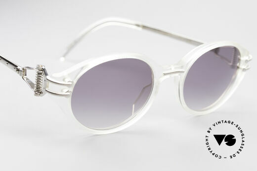 Jean Paul Gaultier 55-5201 90's Steampunk Shades, unworn (like all our rare vintage JP Gaultier shades), Made for Men and Women