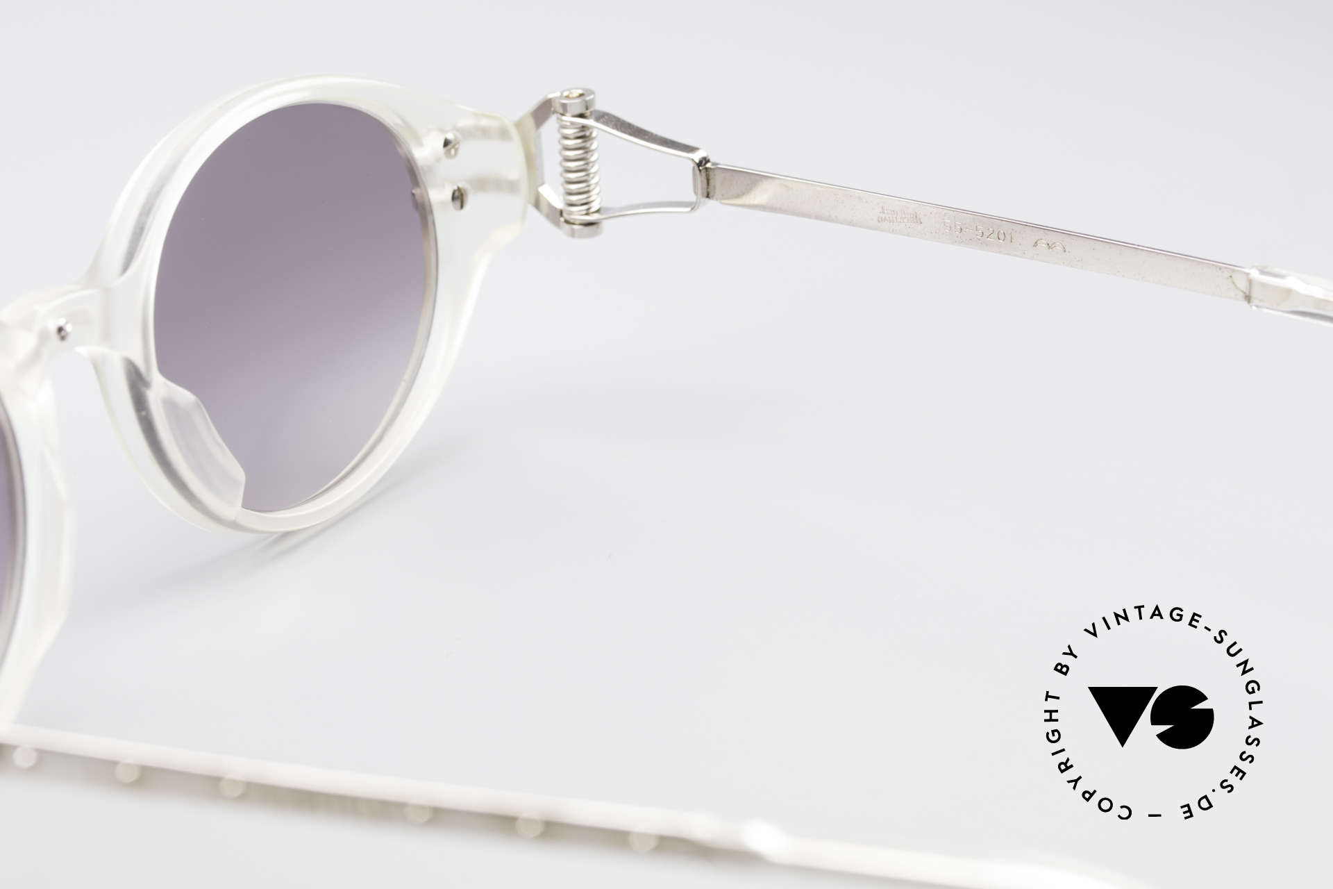 Jean Paul Gaultier 55-5201 90's Steampunk Shades, NO retro fashion, but a genuine original from 1996!, Made for Men and Women