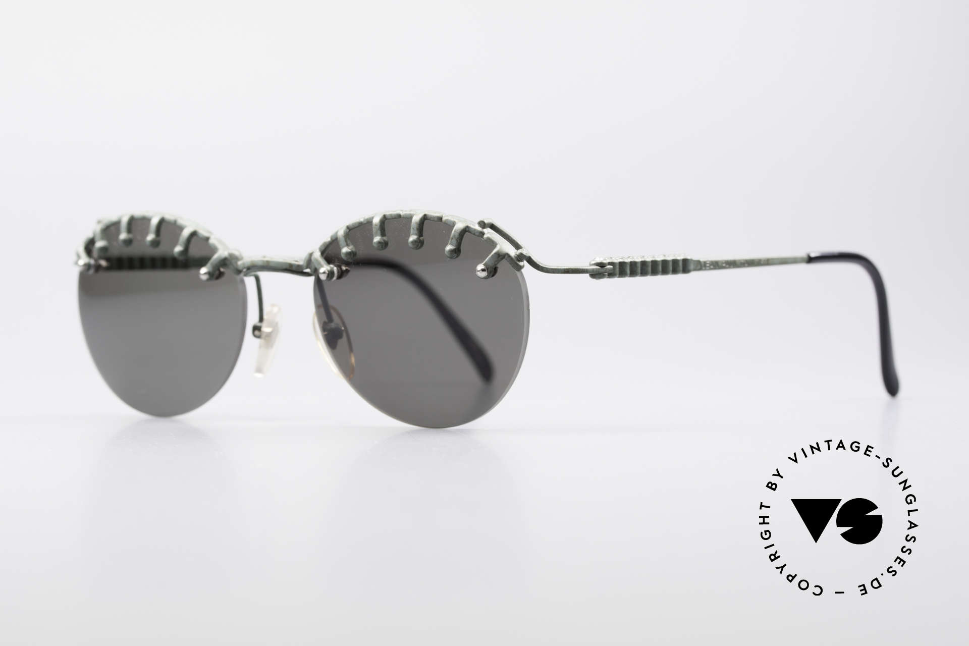 Jean Paul Gaultier 56-5103 Rihanna Vintage Glasses, a true EYE-CATCHER in high-end quality from 1997, Made for Women