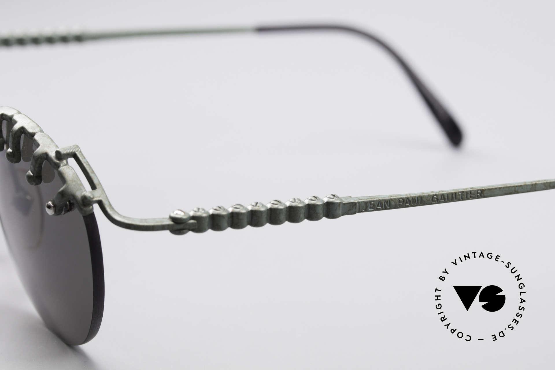 Jean Paul Gaultier 56-5103 Rihanna Vintage Glasses, unworn rarity (like all our vintage J.P.G. sunglasses), Made for Women