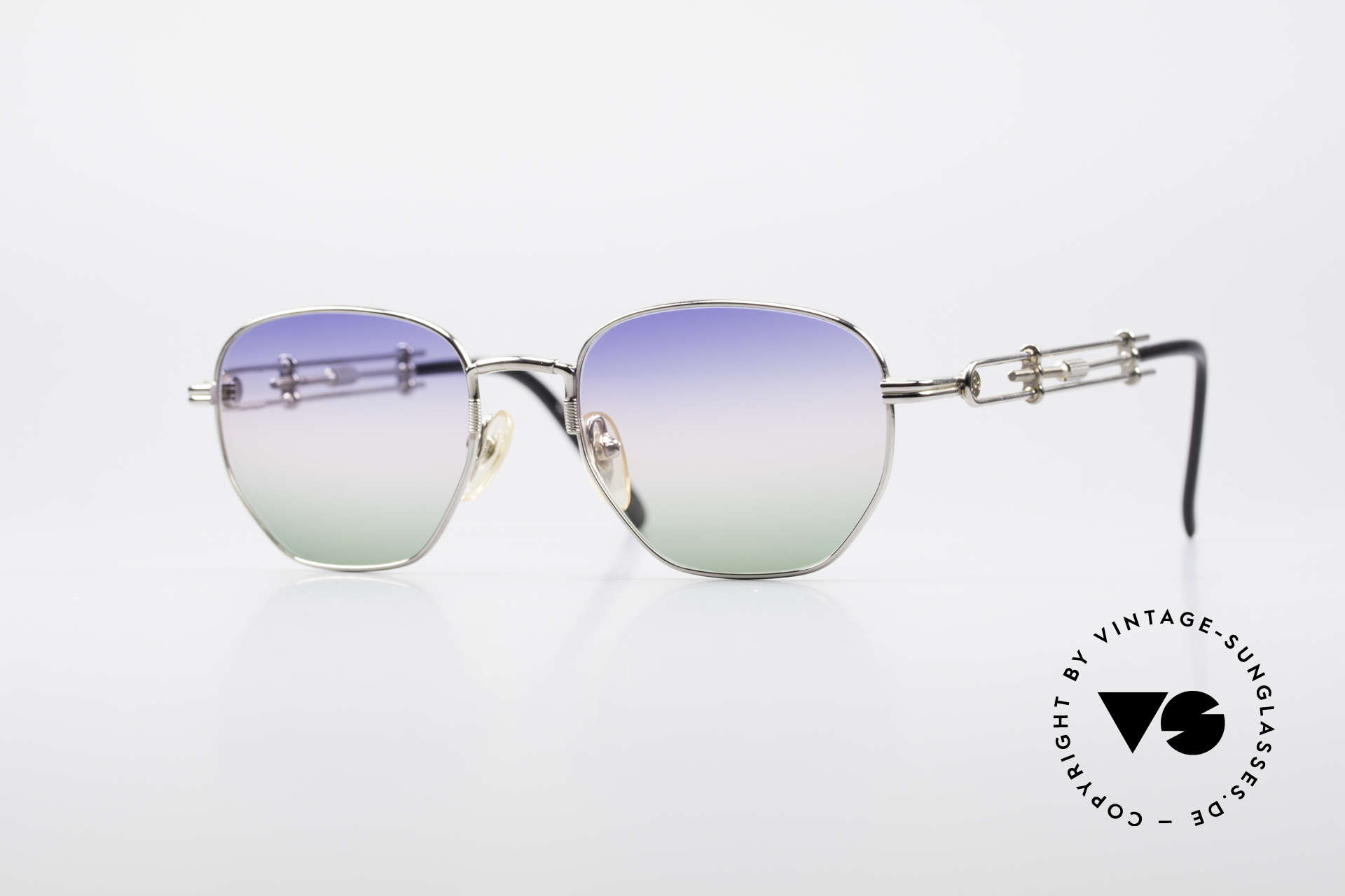 Jean Paul Gaultier 55-4174 Adjustable Vintage Frame, unique designer sunglasses by Jean Paul GAULTIER, Made for Men and Women