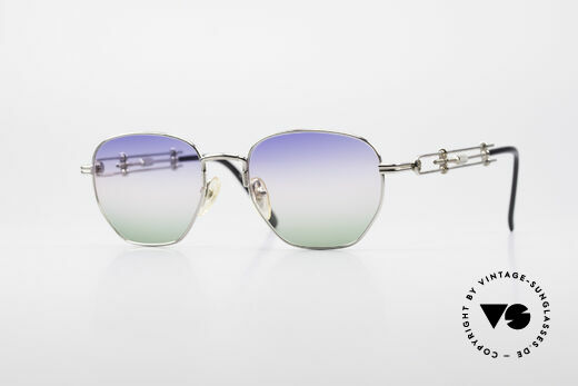 Jean Paul Gaultier 55-4174 Adjustable Vintage Frame Details