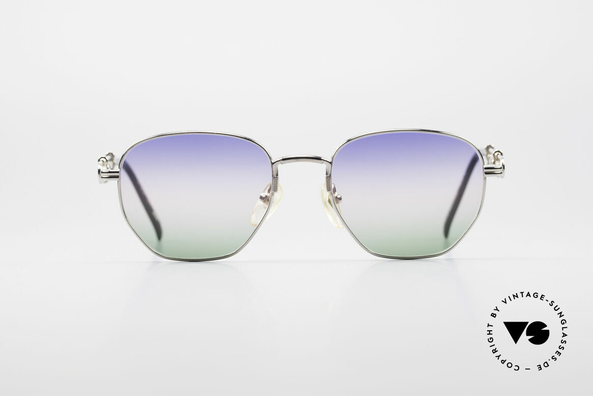 Jean Paul Gaultier 55-4174 Adjustable Vintage Frame, the frame is adjustable in terms of the arm lengths, Made for Men and Women