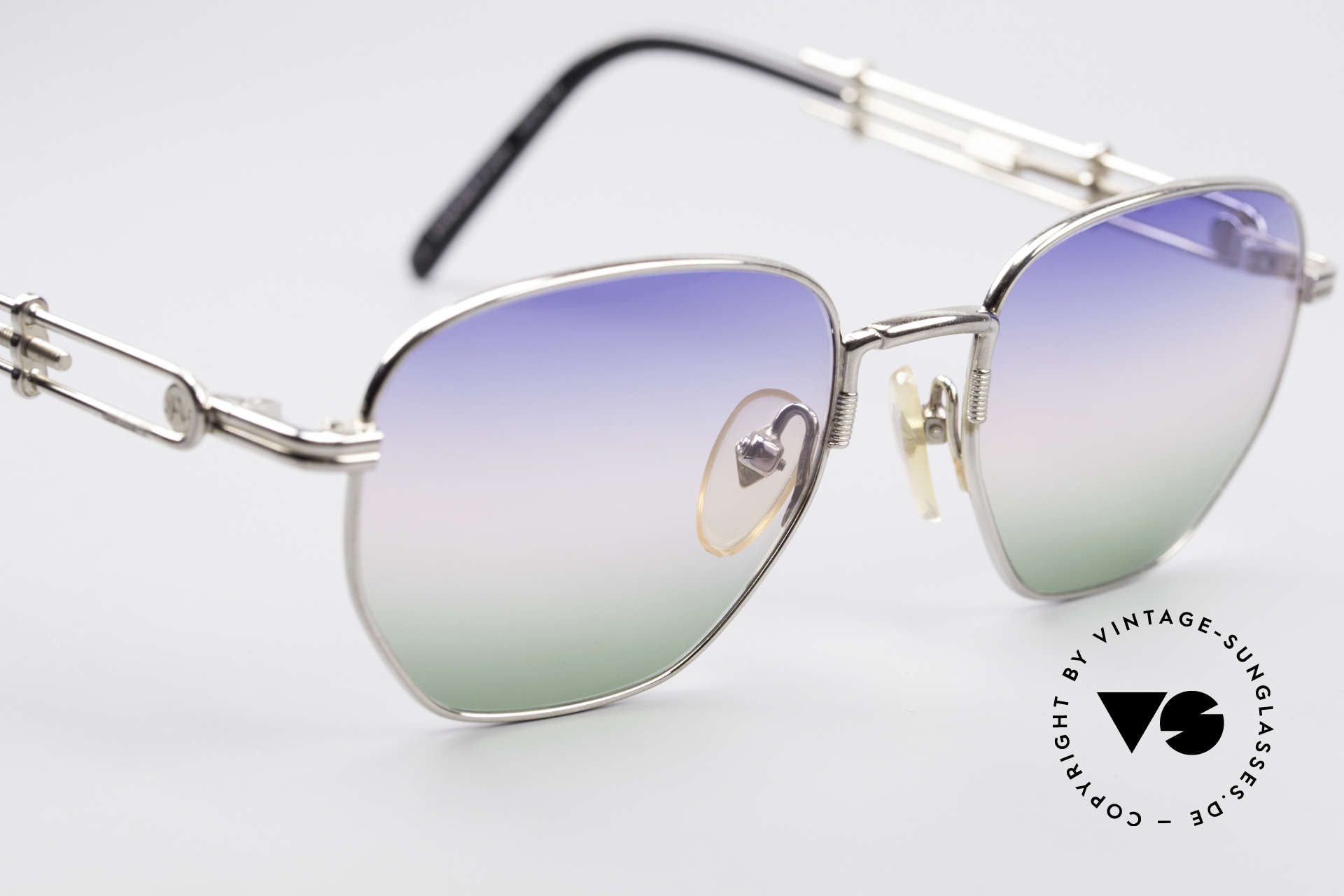 Jean Paul Gaultier 55-4174 Adjustable Vintage Frame, meanwhile, a precious collector's item, worldwide, Made for Men and Women