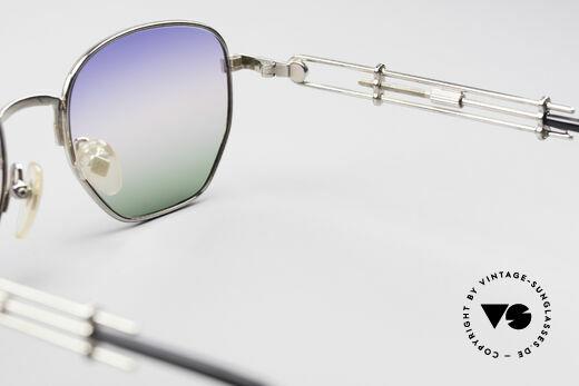 Jean Paul Gaultier 55-4174 Adjustable Vintage Frame, NO retro sunglasses; an old UNWORN 90's Original, Made for Men and Women