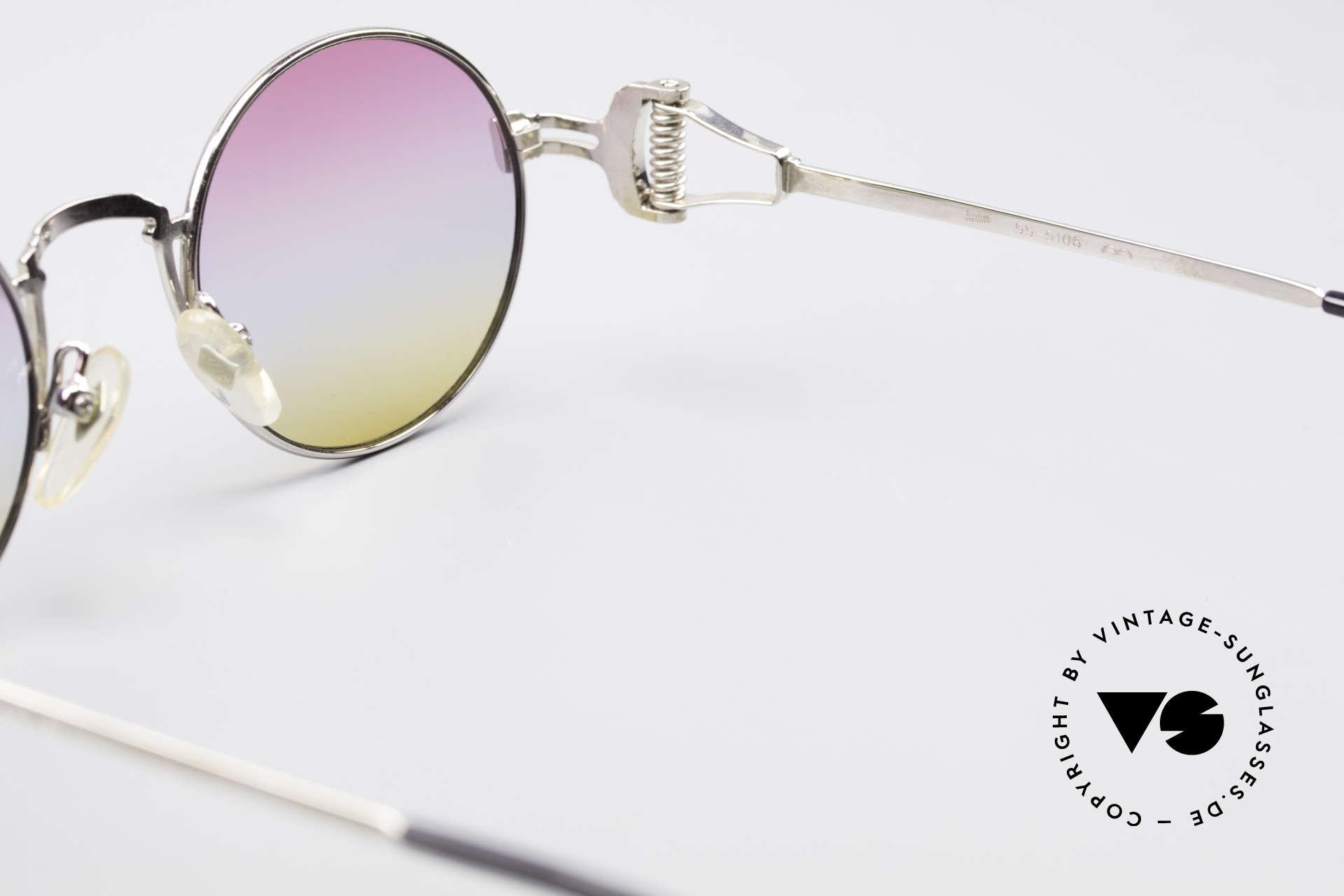Jean Paul Gaultier 55-5106 Designer Vintage Shades, unworn (like all our rare old 1990's designer sunglasses), Made for Men and Women