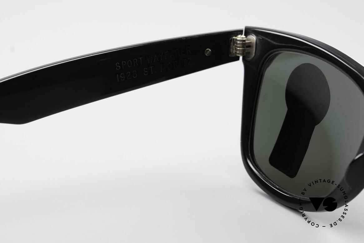 Ray Ban Wayfarer I Olympic Games St. Moritz, NO RETRO sunglasses, but an authentic USA-original, Made for Men and Women