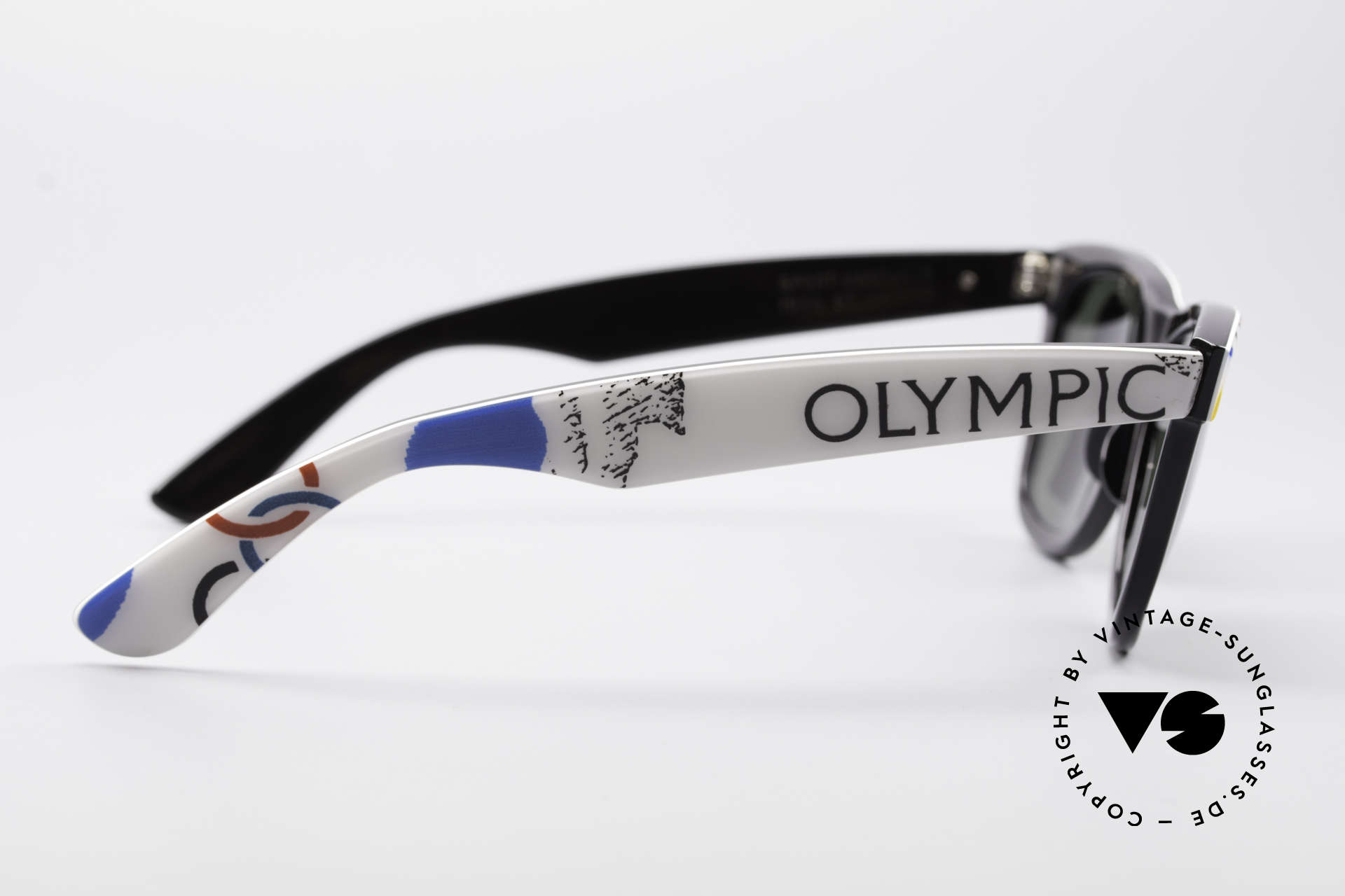 Ray Ban Wayfarer I Olympic Games St. Moritz, Size: medium, Made for Men and Women