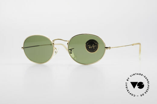 Ray Ban Classic Style I Oval B&L USA Sunglasses Details