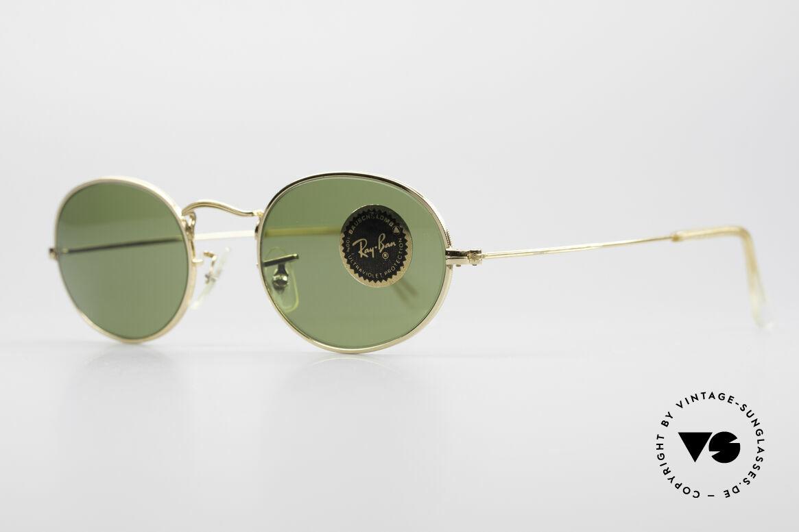 Ray Ban Classic Style I Oval B&L USA Sunglasses