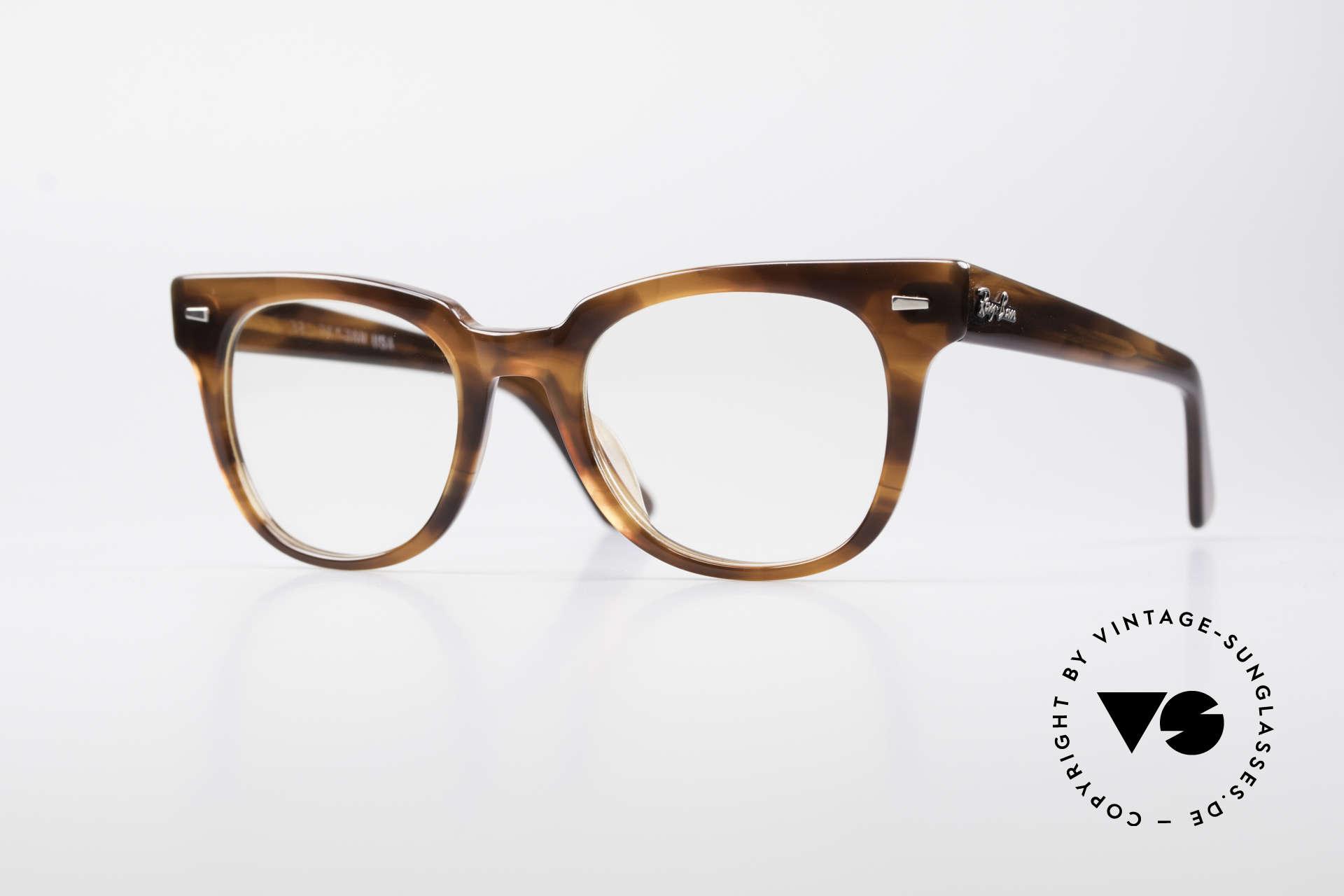 Glasses Ray Ban Meteor 80\'s Vintage USA Frame | Vintage Sunglasses