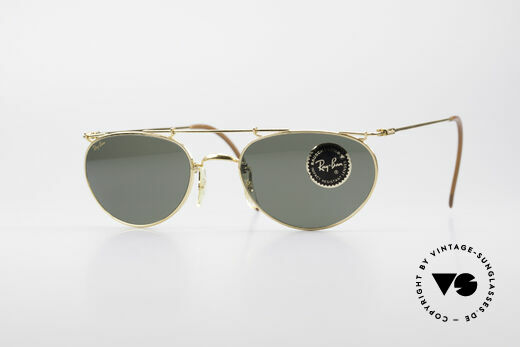 Ray Ban Deco Metals Oval B&L USA 90's Sunglasses Details