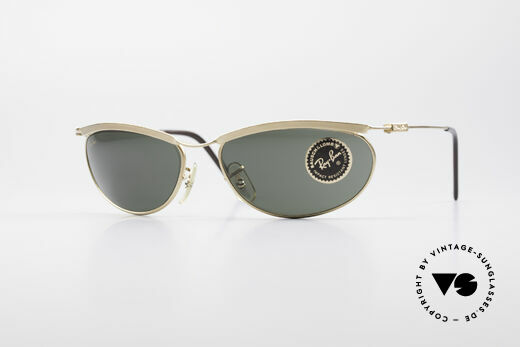 Ray Ban Deco Metals Oval B&L USA Sunglasses Details