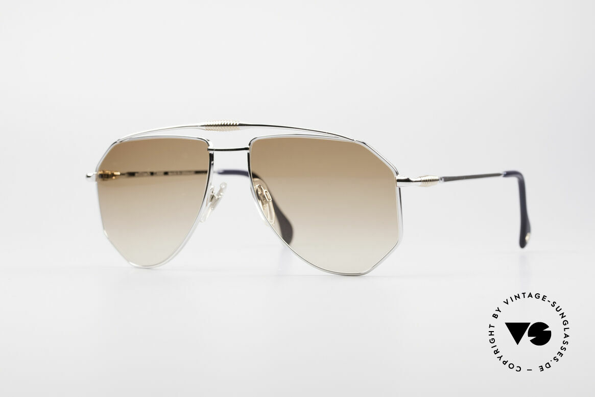 Zollitsch Cadre 120 Large 80's Aviator Shades, vintage Zollitsch designer sunglasses from the late 80's, Made for Men
