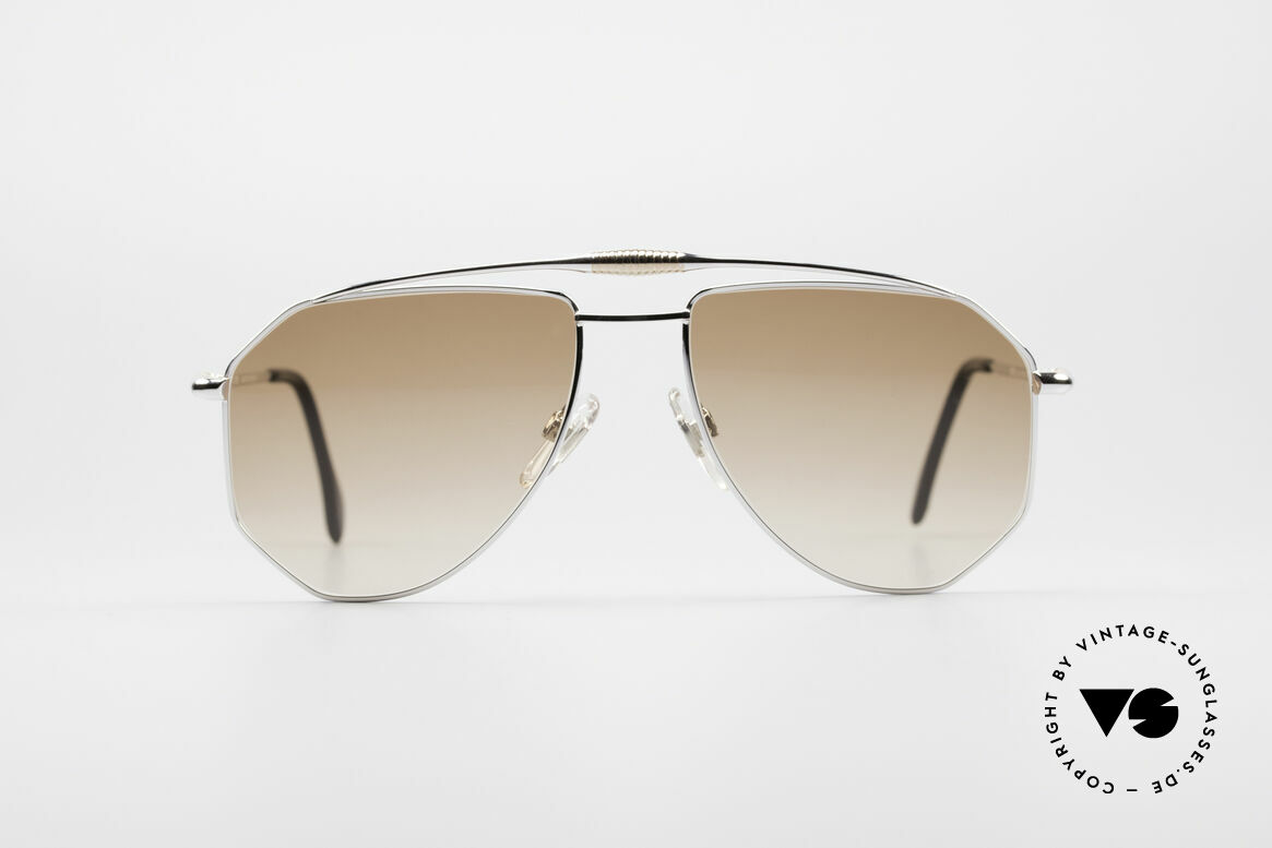 Zollitsch Cadre 120 Large 80's Aviator Shades, distinctive frame for men (outstanding quality, Germany), Made for Men