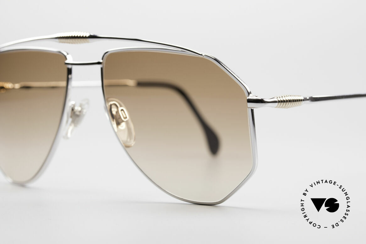 Zollitsch Cadre 120 Large 80's Aviator Shades, unworn (like all our rare vintage ZOLLITSCH sunglasses), Made for Men